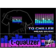 [Super Deal]Wholesale 2009 fashion hot sale T-shirt A36,el t-shirt,led t-shirt