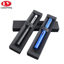 Черная ручка-упаковка для одной ручки