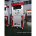 Zcheng Red Color Benett Fuel Dispenser Double Pump