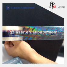 Cinta adhesiva holográfica autoadhesiva para embalaje con características anti falsas