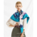 Fashion shawls fábricas china nova natal cores 2015 logo print seda lenço