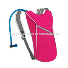 Hydration Backpack, 600D Polyester Fabric, Suitable for 2L Water Bladder