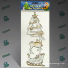 Clear Plastic Tipos de decoraciones de Navidad
