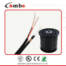 Cabo coaxial RG6 siamês Stranded CU 75ohm