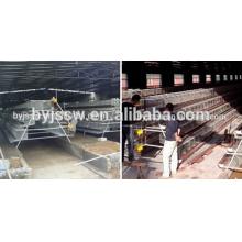 Huhn-Batterie-Käfig / benutzte Geflügel-Ausrüstung für Huhn