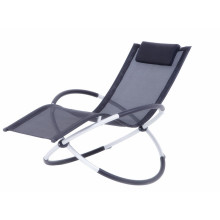 Foldable aluminum rocking chair