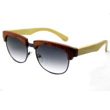 Mais recente tecnologia de madeira óculos de sol da moda (sz5687-3)