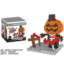 DIY Festival Pumpkin Building Blocks Hallowmas Toy Flash Music Box
