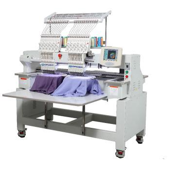 Casquette et T-shirt 12 Aiguilles 2 Tête Informatisée Broderie Machine prix