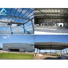 Bajo costo y estructura de acero de alta calidad Hangar de avión