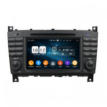 Android car dvd radio for Mercedes C-Class 2004-2007
