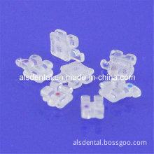 Dental Orthodontic Roth Mbt Sapphire Ceramic Bracket