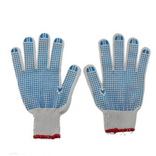 Safety PVC Dotted Work Gloves