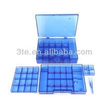 Plastic Optical Tool Box for Storing Screws