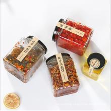 Food Packaging Very Cheap Glass Honey Jars with Metal Cap
