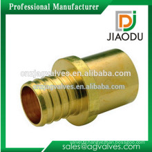 Custom Made OEM/ODM 1 2 3 4 3/4 inch DN15 20 lead free high quality high pressure advanced brass copper dn20 pipe fittings