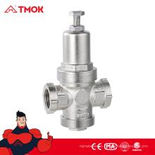 Válvula de alivio de la válvula de reducción de presión de agua de alta precisión Válvula de reducción de presión de agua de latón de precisión por encargo al por mayor