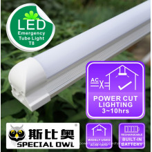 LED Emergency Tube lamp T8: 18W/1.2m, 13W/0.9m, 9W/0.6m Rechargeable with Backup Battery