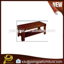 China factory direct sale cheap quality oblong tea table design