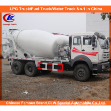 North Benz 10cbm Concrete Transit Mixer for Cement Mobile Mixer