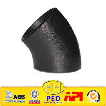 Hebei Cangzhou seamless and welded 45 carbon steel elbow