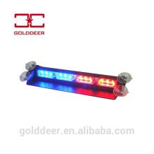 Parabrisas de auto LED luz LED Visera luz de advertencia