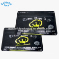 customized resealable aluminum foil mini sachet pouch