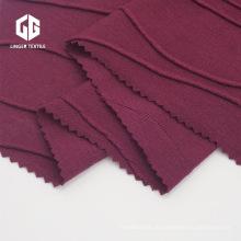 65/35 TR Jacquard Single Jersey Stoff Polyester Rayon