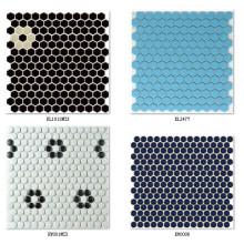 Azulejo 3D Mosaico Blackground