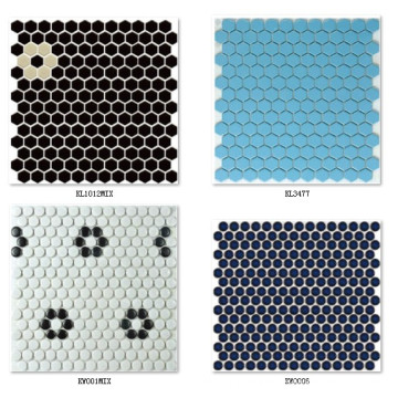 3D Blackground mosaico de azulejos