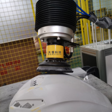 Carbon fiber helmet grinding polishing modular workstation
