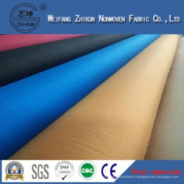 Tissu non-tissé de Spunbond de Popypropylene de 100% pour des sacs d'achats / cadeaux