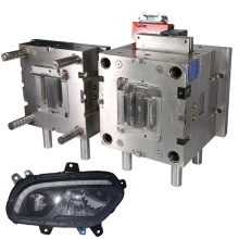 manufacture design custom new automotive injection plastic mould spare auto head lamp mould