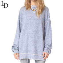 Wholesale china manufacturer high quality women sweatshirt