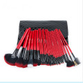 Professional 24 PCS Eyeshadow Lip Makeup Brushes Set for Christmas