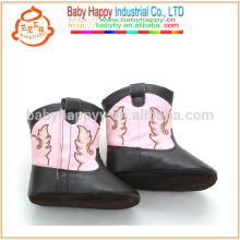 Pretty girls prewalker leather shoes outdoor baby cute boots