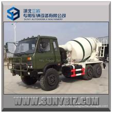 Dongfeng 6X6 6wd 6cbm Cummins Engine Mobile Concrete Mixer