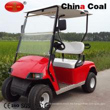 Precio de fábrica 2 Seat Electric Motorcycle Solar Golf Car