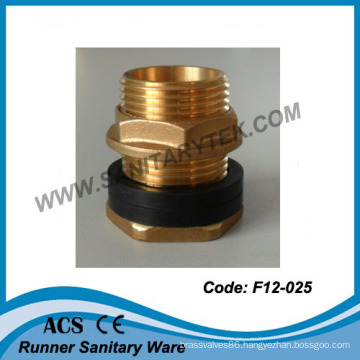 Fanged Connector for Tank with Rubber Washer (F12-025)