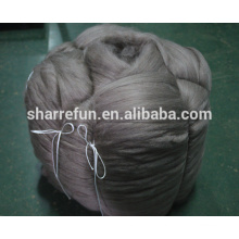 Mongolian Cashmere Tops Brown 16.5mic/44mm low factory price