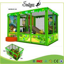 Umweltmaterial Top Qualität Kinder Indoor Mini Spielplatz zum Verkauf