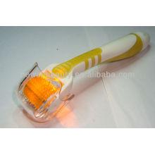 Rodillo amarillo de la belleza del rodillo de la piel del rodillo del dermatólogo de Photon del amarillo para el cuidado de la piel y de la belleza