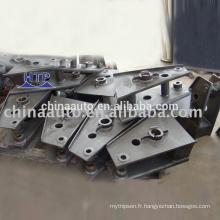 Tampon de pièces de suspension indépendant semi-remorque de haute performance