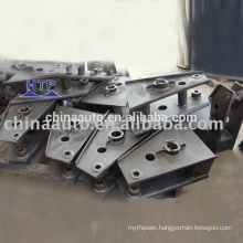 High performance semi trailer independent suspension parts buffer