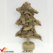 Christmas Tree Fir Pieces European Wooden Wholesale Rustic Home Decor