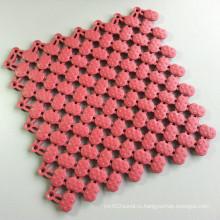 Антибактериально УФ-устойчивы мягкий виниловая плитка влажная зона коврик античный розовый