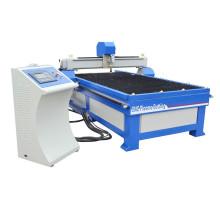 Máquina de corte de plasma de acero y metal cnc
