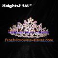 Flower AB Diamond Rhinestones Tiaras