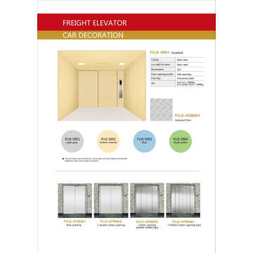FUJI Cargo Elevator From China Supplier