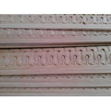 moldagem de parede decorativa de madeira